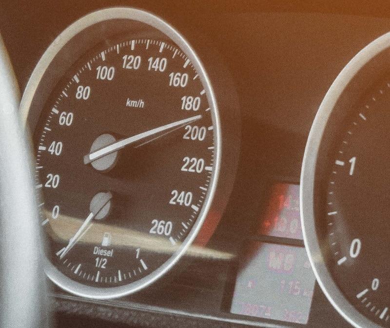 Stunt Driving Speed